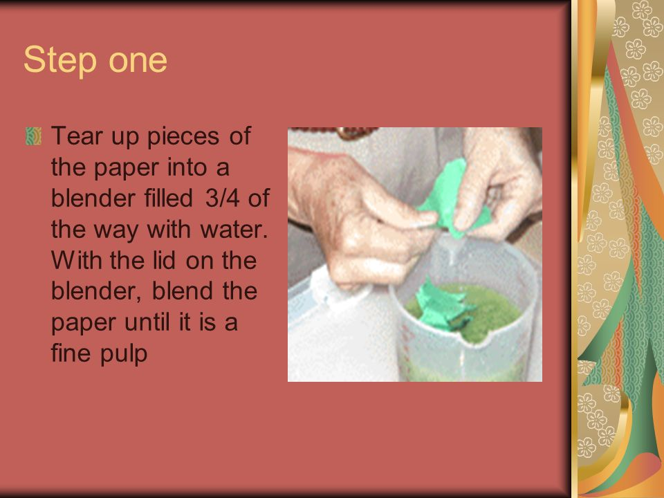 Making your own paper How do artists create handmade paper.