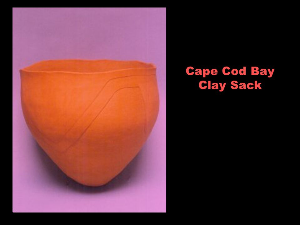 Cape Cod Bay Clay Sack