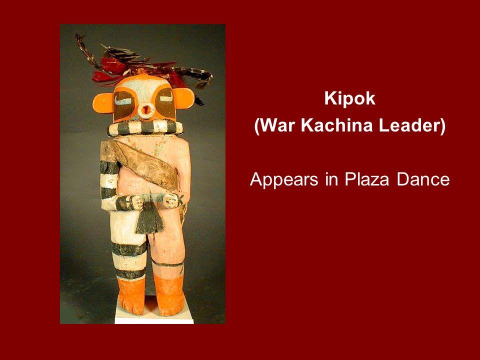 Kipok (War Kachina Leader) Appears in Plaza Dance