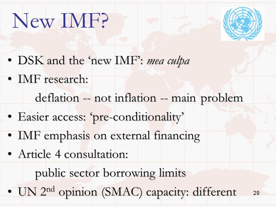 29 New IMF.