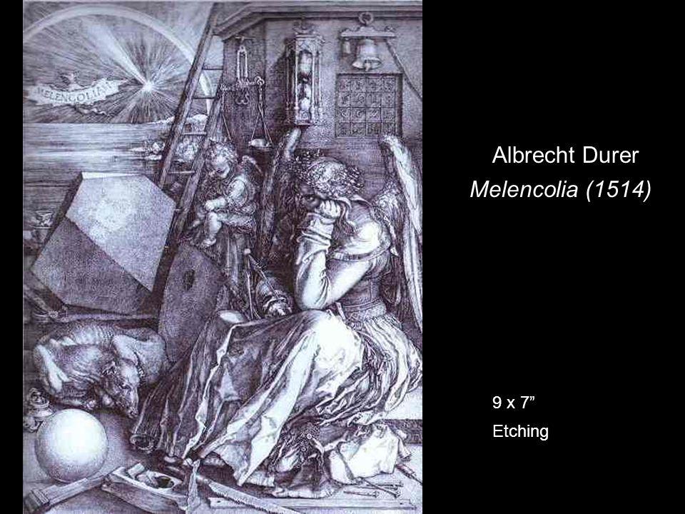 Albrecht Durer Melencolia (1514) 9 x 7 Etching