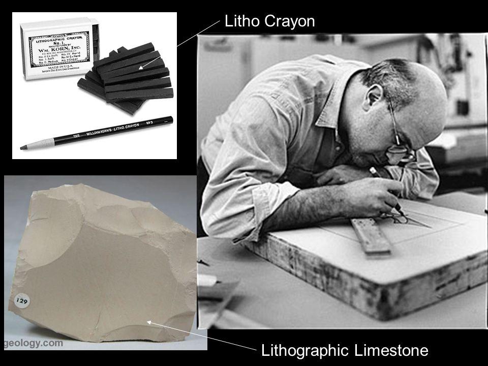Lithographic Limestone Litho Crayon