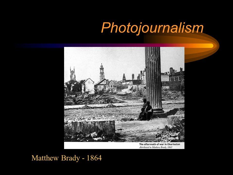 Photojournalism Timothy OSullivan - 1864