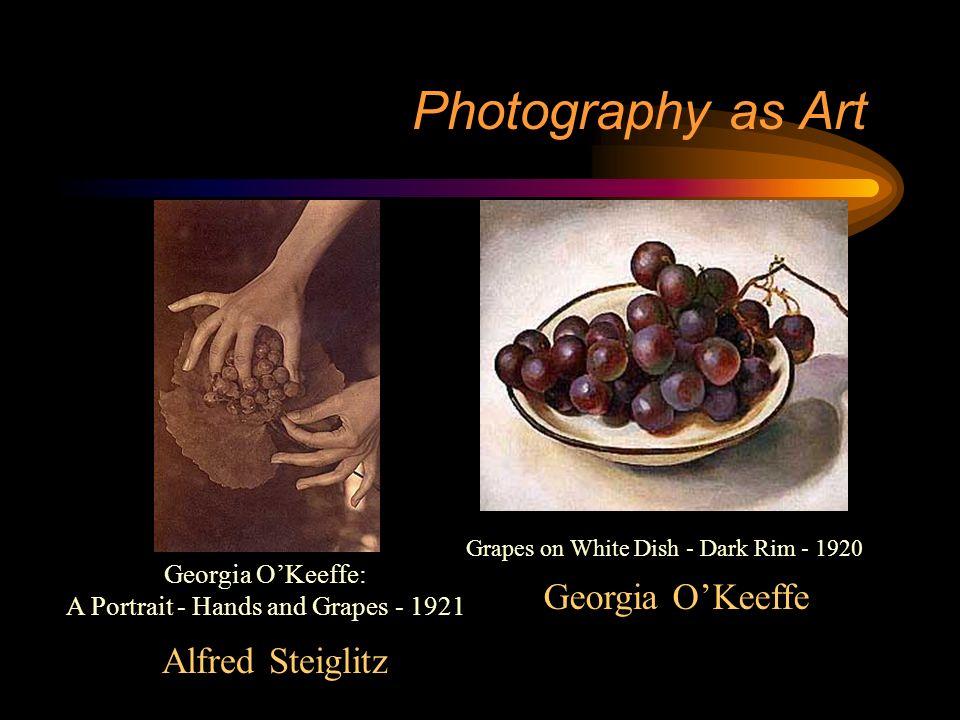 Alfred Steiglitz Photography as Art Sun Rays - Paula - Berlin 1889 Georgia OKeeffe - 1918