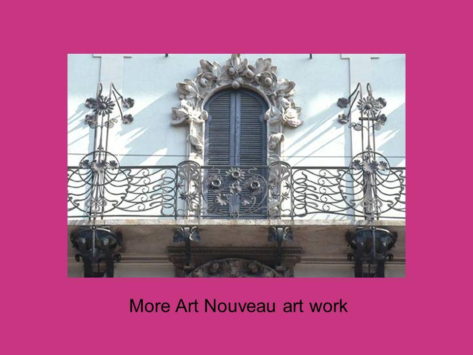 More Art Nouveau art work