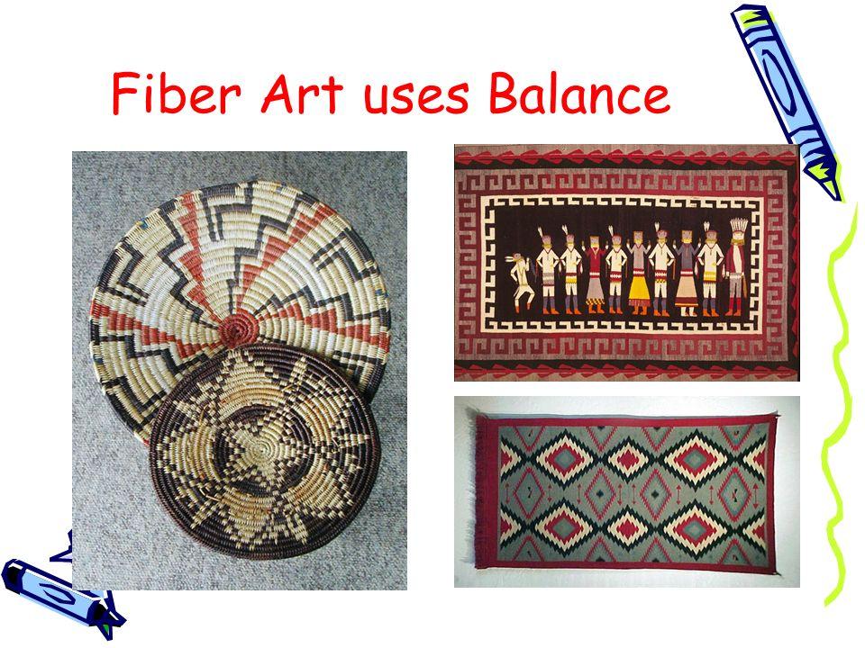 Fiber Art uses Balance