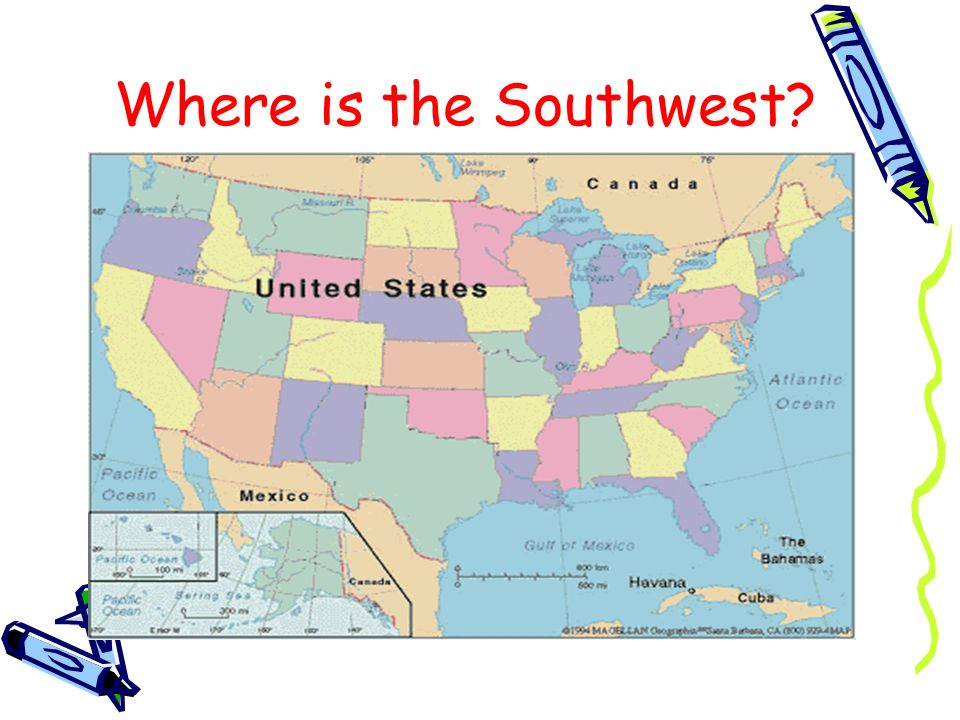 Where is the Southwest?