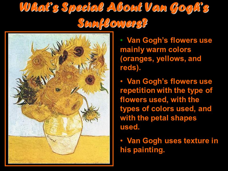 More Van Gogh Sunflowers