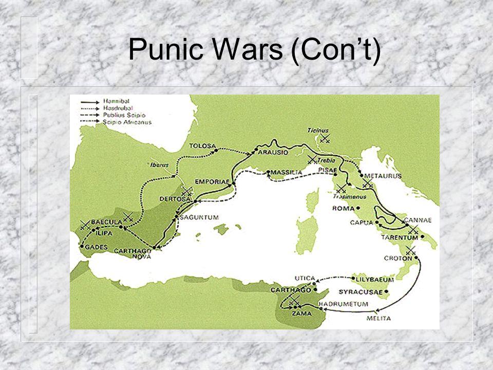 Punic Wars (Cont)