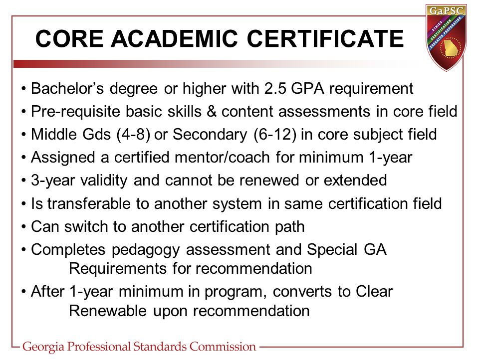 ENHANCED CERTIFICATE DESIGN Types (9) Teaching (T) Service (S) Leadership (L) Parapro (PARA) Non-instructional Aide (Aide) Technical Specialist (TS) Permit (P) Support Personnel (SP) Adjunct (J) Non-Renewable Titles (11) Non-Renewable Prof (N) Intern (I) International Exchange (X) Life (D) Waiver (W) Advanced Degree Alternative Certificate / ADAC (A) Core Academic (CA) Clinical Practice (CP)