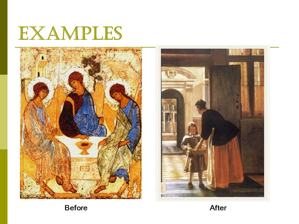 Examples BeforeAfter
