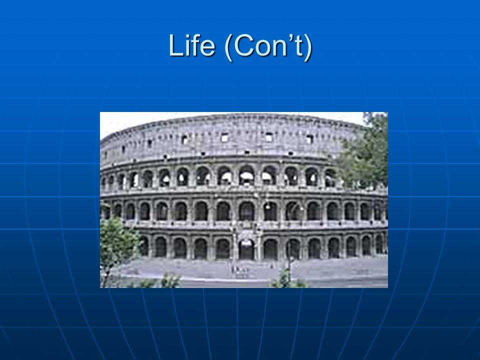 Life (Cont)