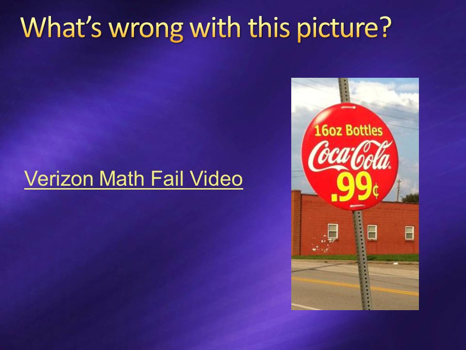 Verizon Math Fail Video
