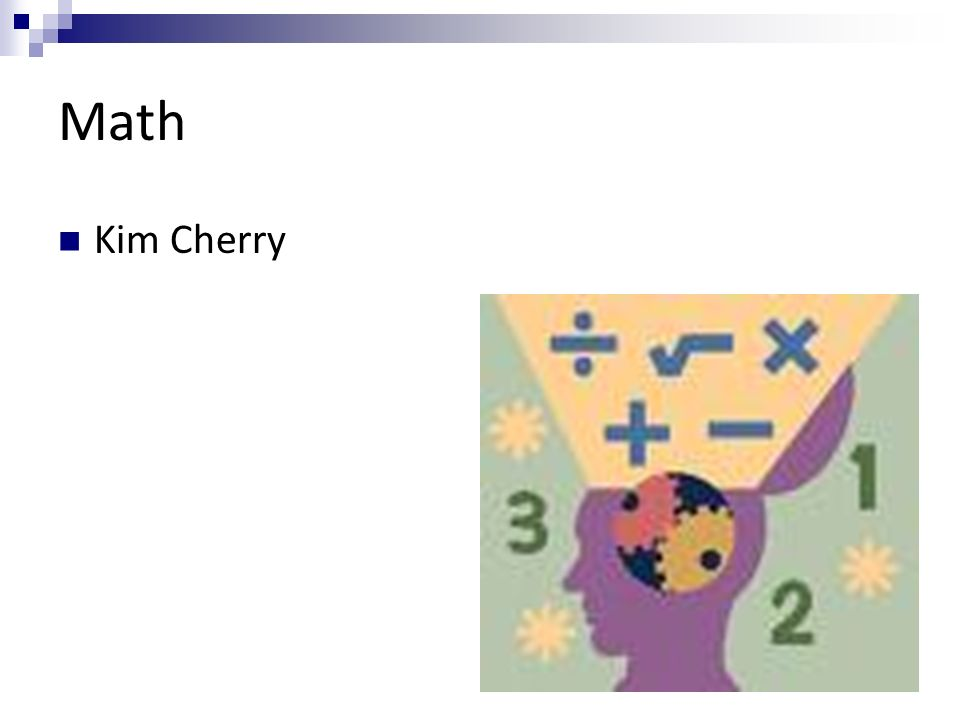 Math Kim Cherry
