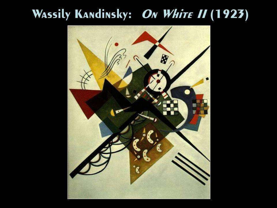 Wassily Kandinsky: On White II (1923)