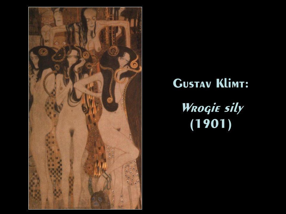 Gustav Klimt: Wrogie sily (1901) Gustav Klimt: Wrogie sily (1901)