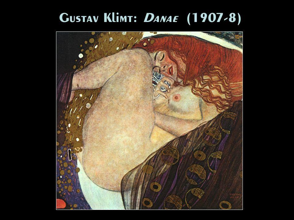Gustav Klimt: Danae (1907-8)