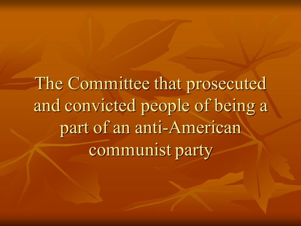 Communism Back
