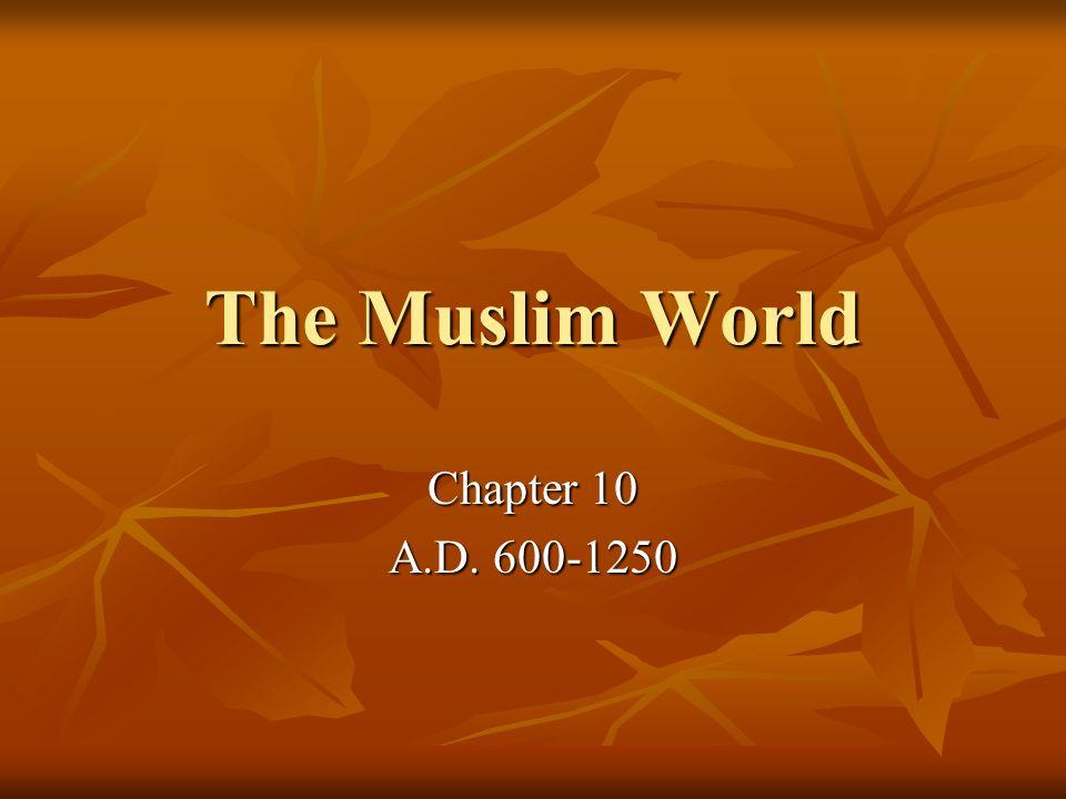 III.Islam Expands A. Muhammads successors spread Islam 1.