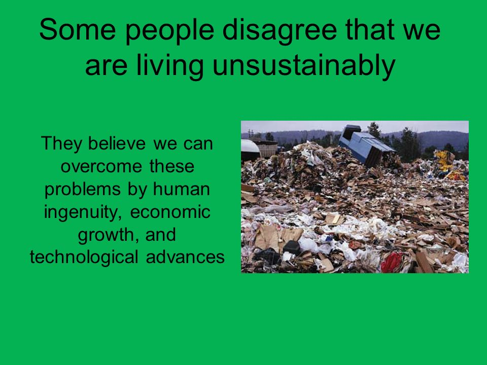 Our Ecological Footprint Humanitys ecological footprint has exceeded earths ecological capacity.
