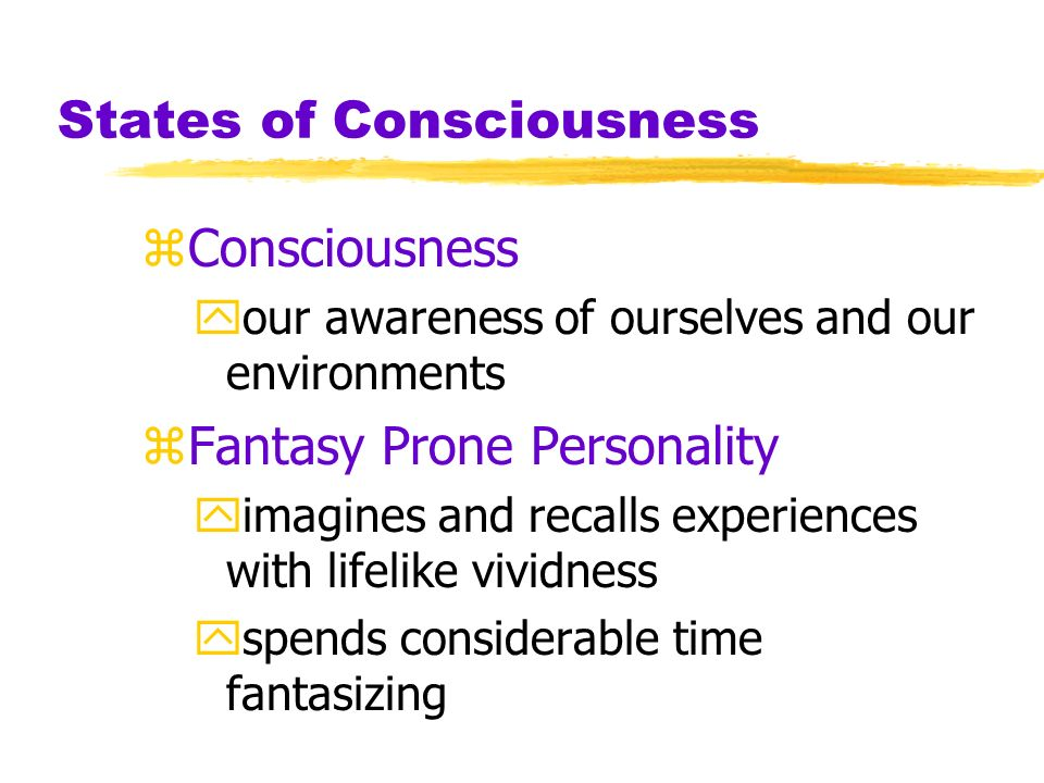 Myers PSYCHOLOGY (6th Ed) Chapter 7 States of Consciousness James A.