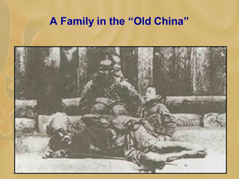 A Family in the Old China