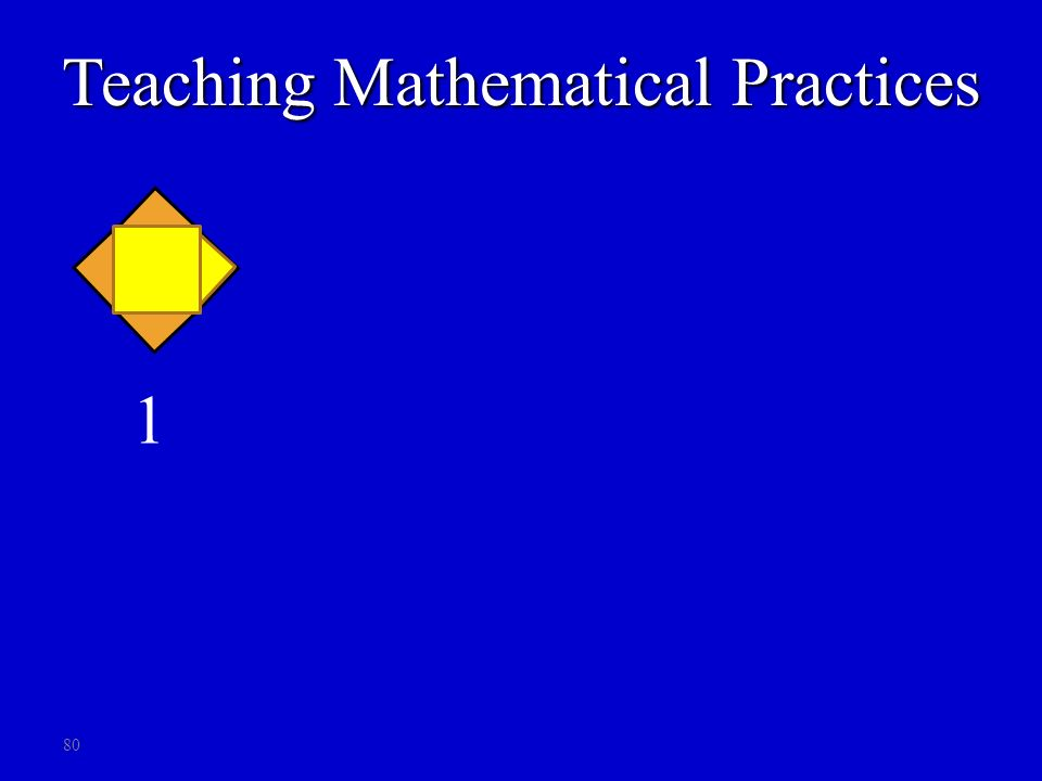 80 1 2 3 4 ? Pos # # s 1 2 34 n… 1 2 34 ?… 4 6 810 # s?… Teaching Mathematical Practices