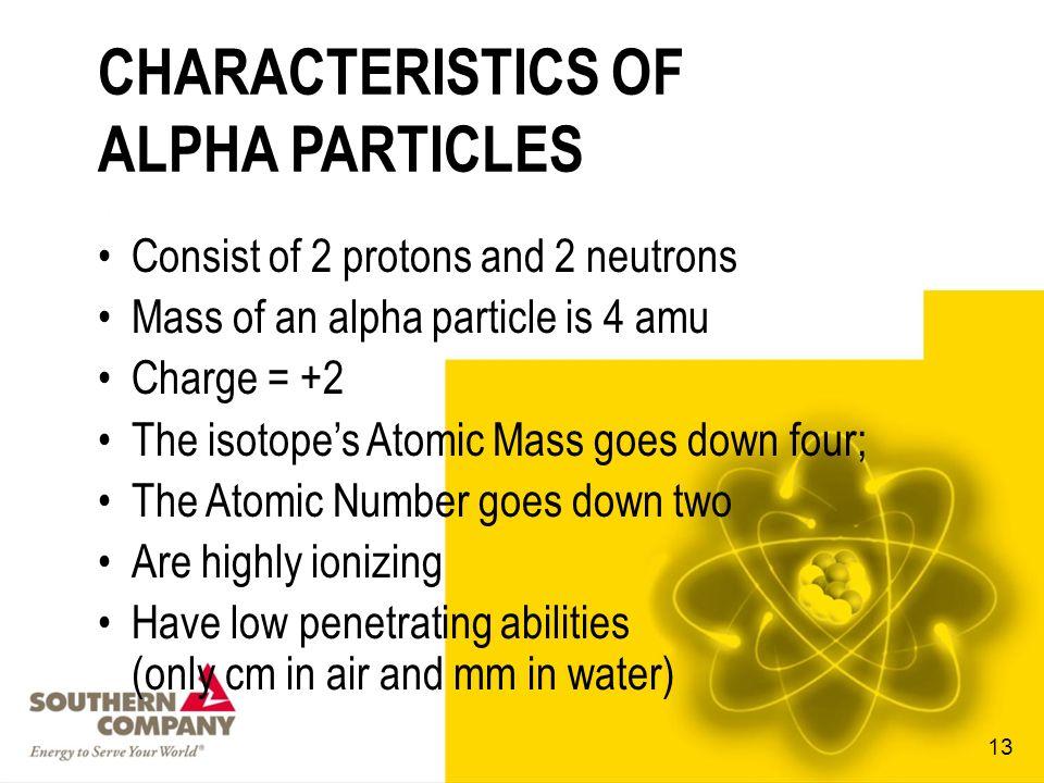 ALPHA PARTICLE 12