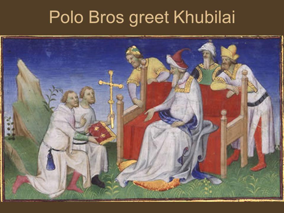 Polo Bros greet Khubilai
