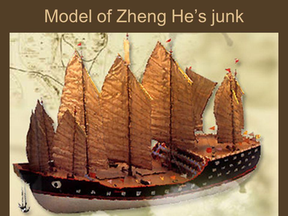 Model of Zheng Hes junk