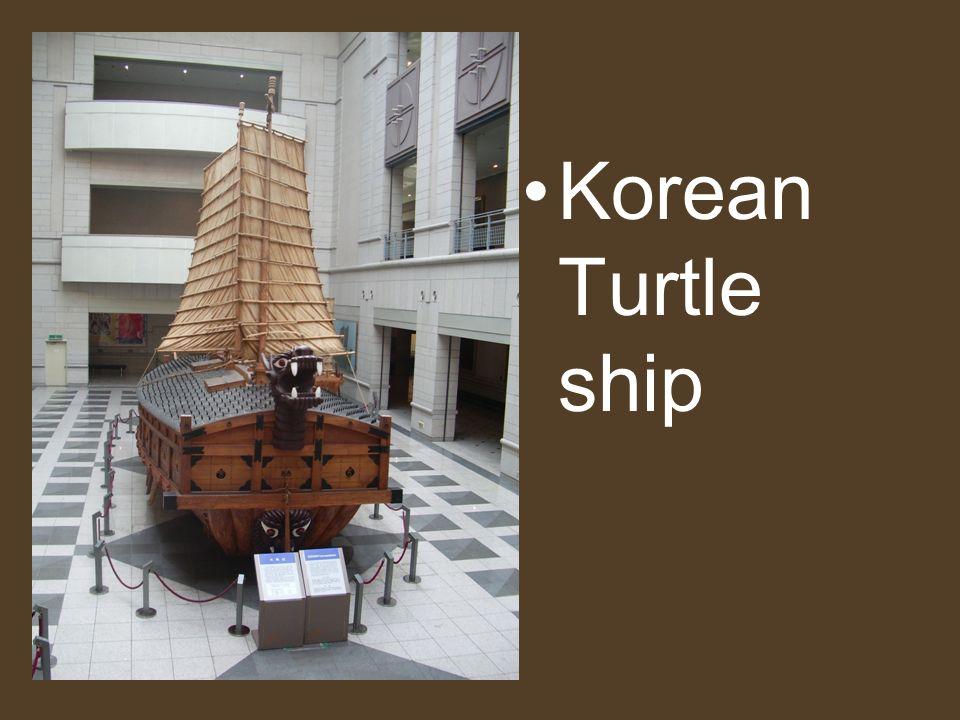 Korean Turtle ship