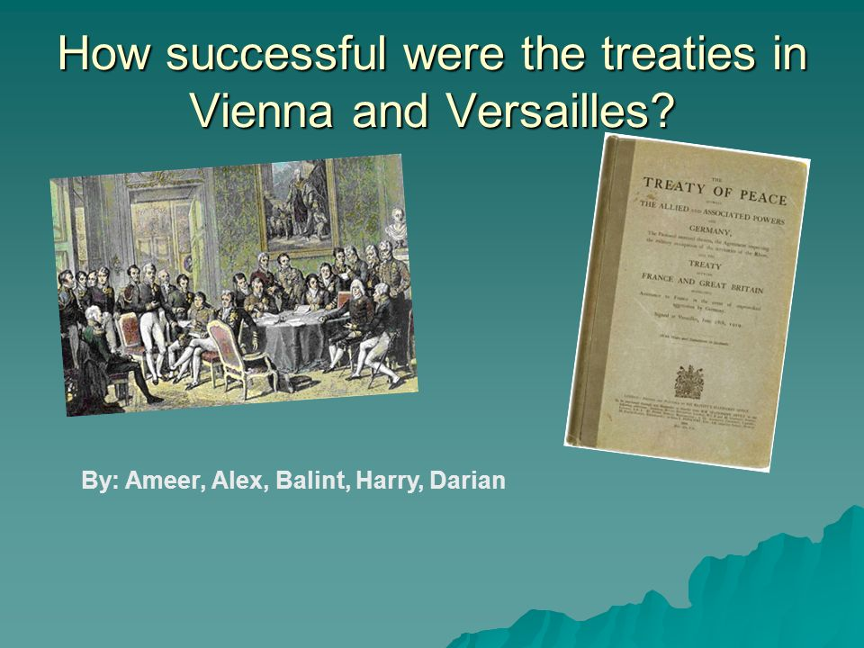 Introduction - The Congress of Vienna was a conference of ambassadors of European states chaired by Wenzel von Metternich, and held in Vienna from September, 1814 to June, 1815.