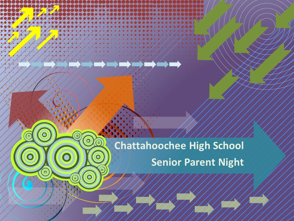Chattahoochee High School Senior Parent Night
