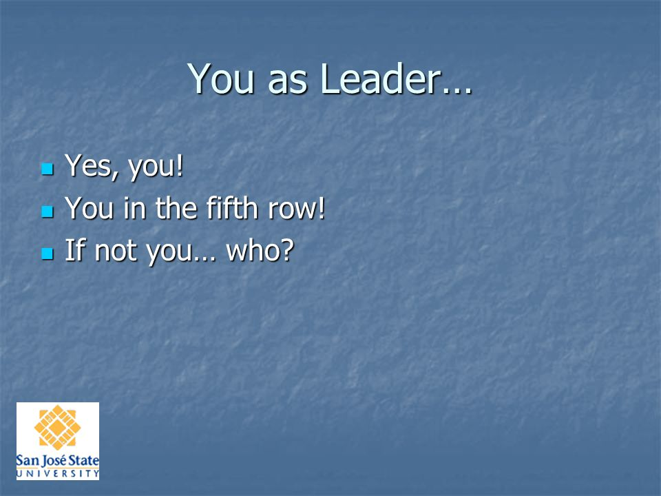 Developing Leaders Dr.