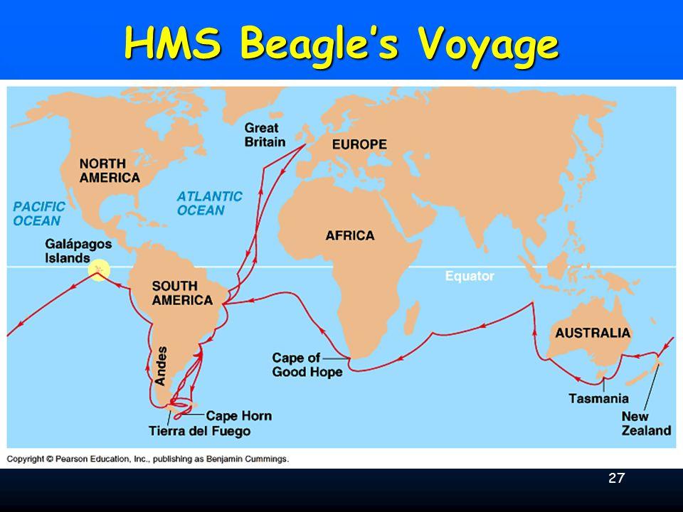 27 HMS Beagles Voyage