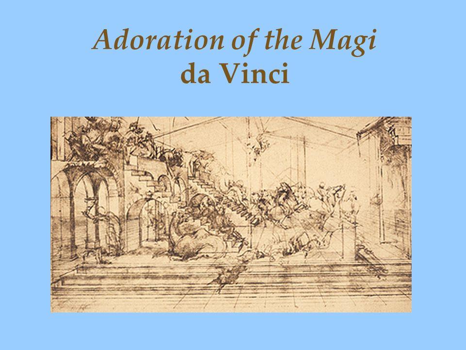 Adoration of the Magi da Vinci