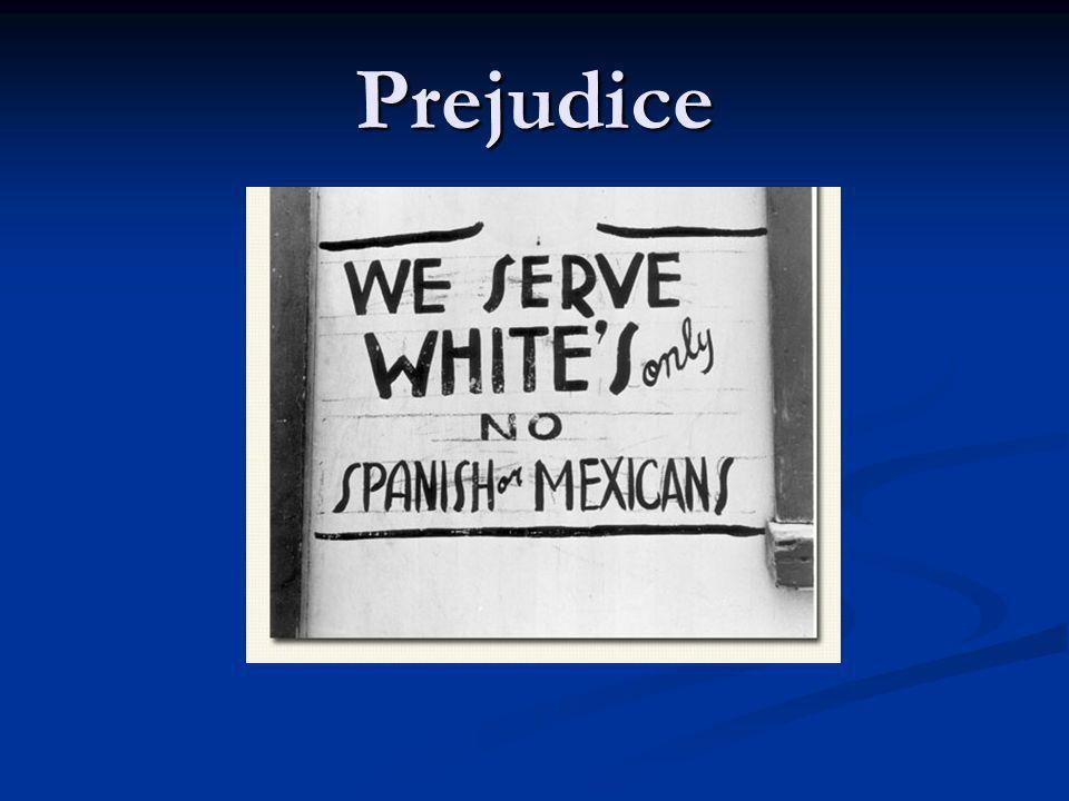 Prejudice