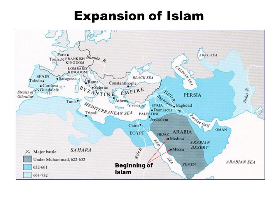 Beginning of Islam Expansion of Islam