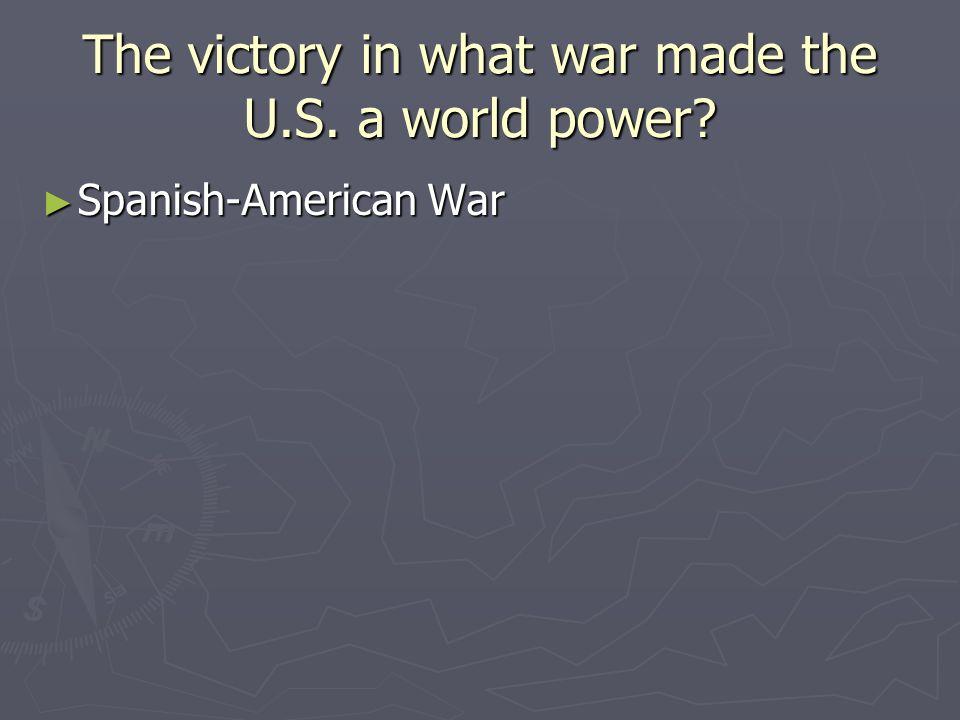 Spanish-American War Spanish-American War