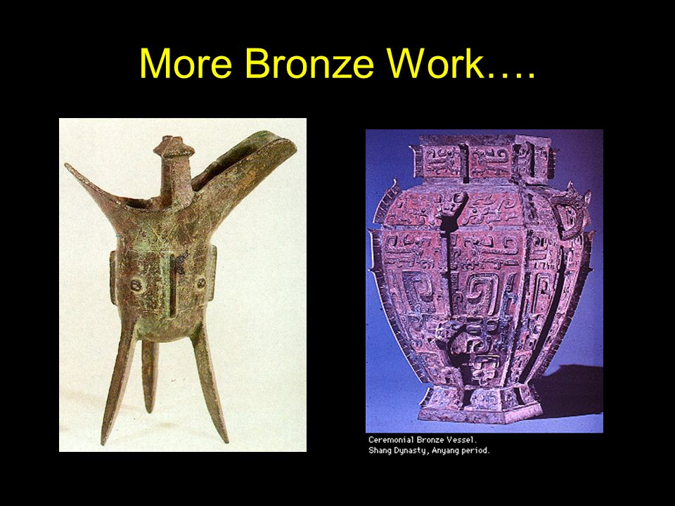 More Bronze Work….