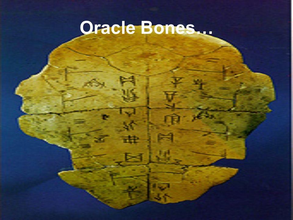 Oracle Bones…