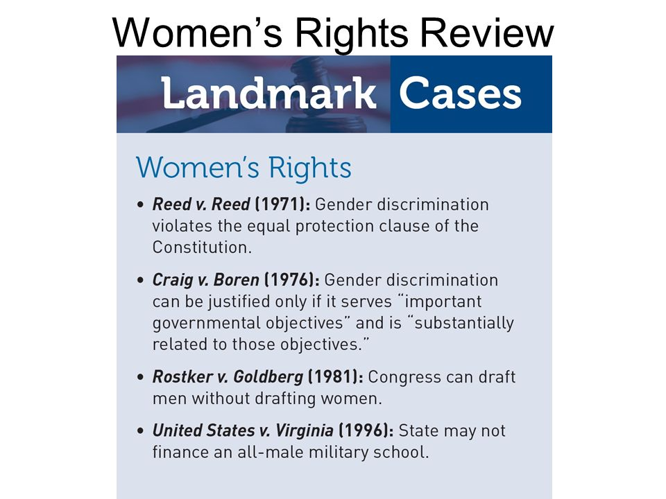 Womens Rights Review