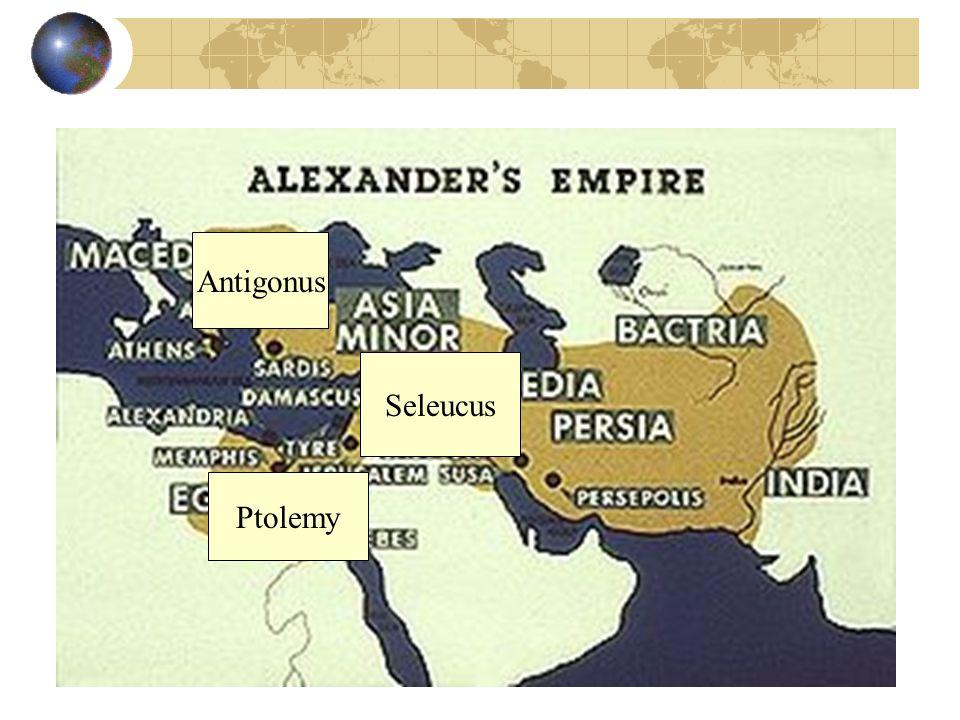 Antigonus Ptolemy Seleucus