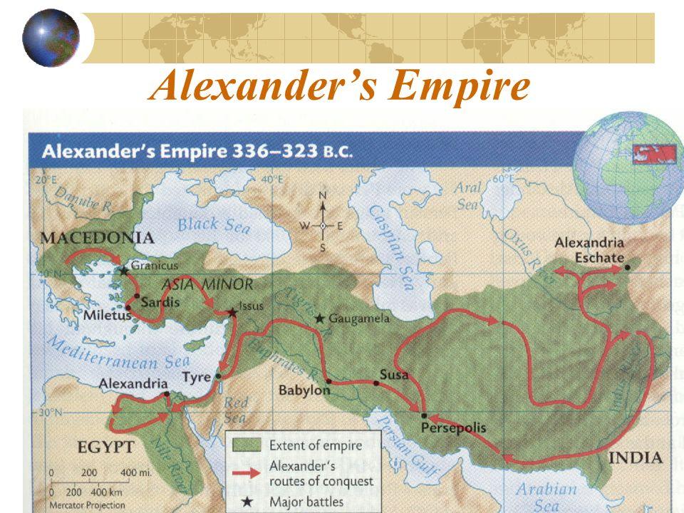Alexanders Empire