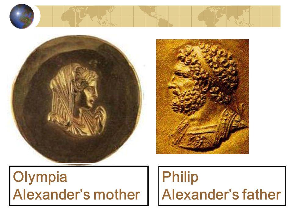 Olympia Alexanders mother Olympia Alexanders mother Philip Alexanders father Philip Alexanders father