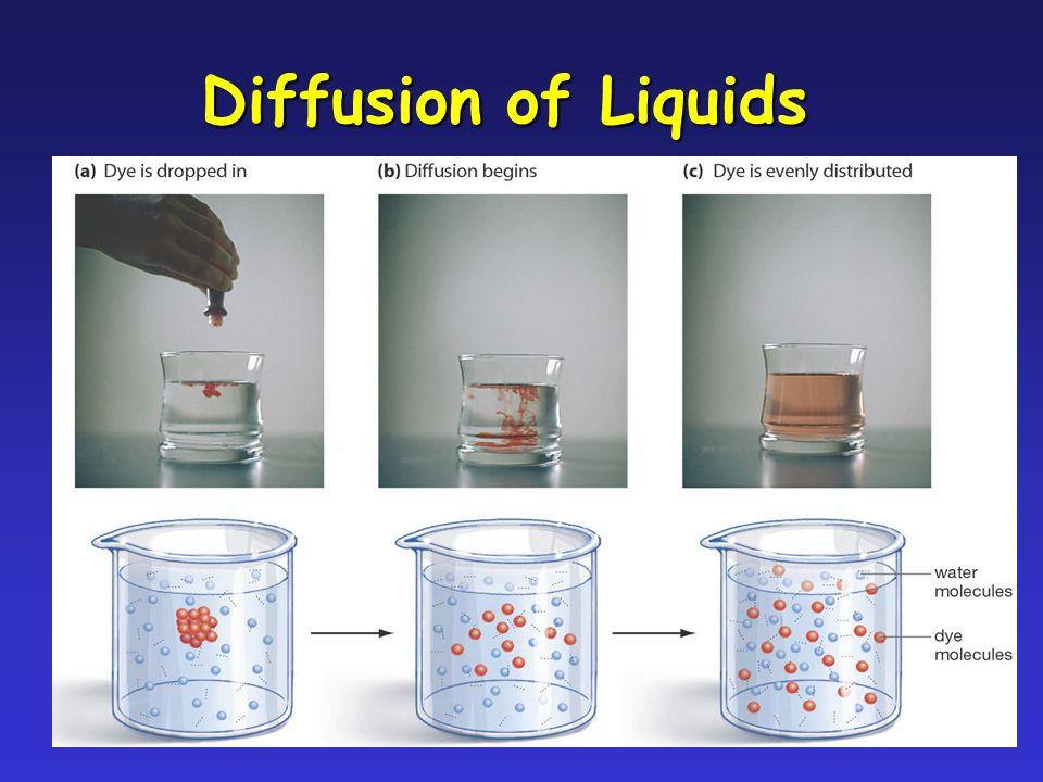 19 Diffusion of Liquids
