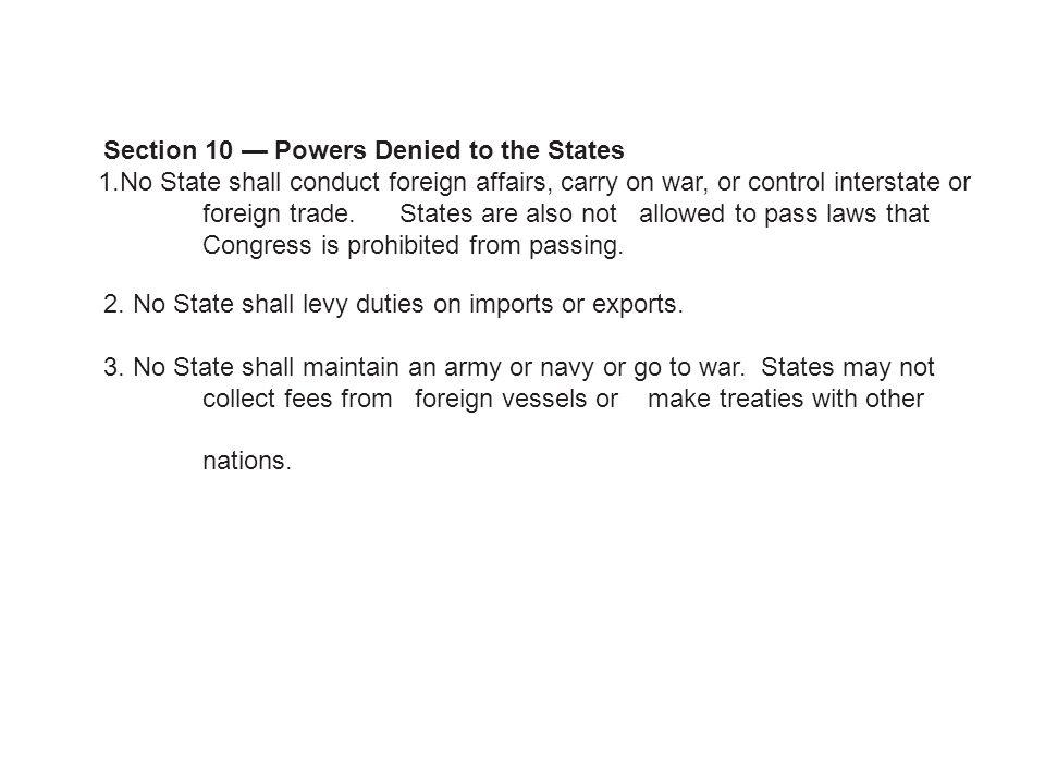 The Constitution Article 2-7 The Constitution Article 2-7