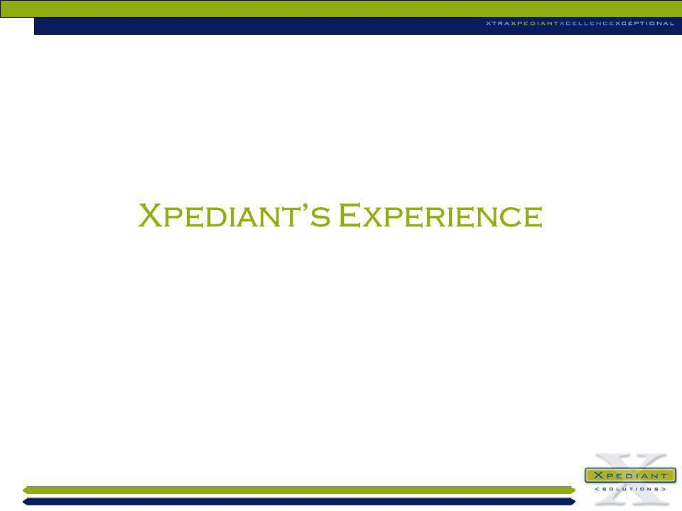 Xpediants Experience