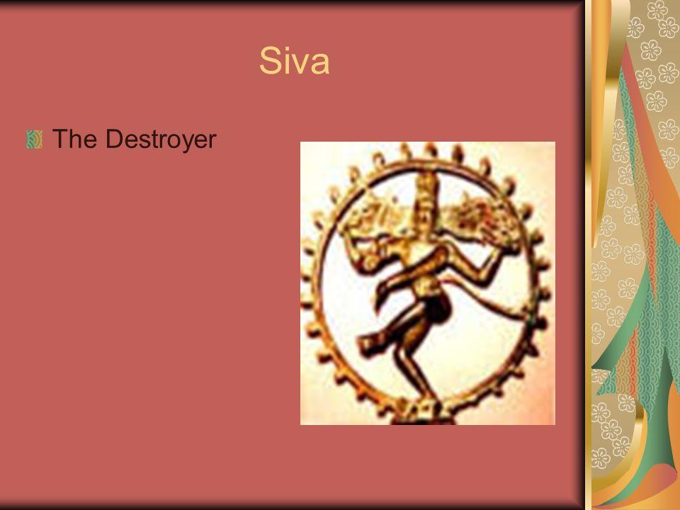 Siva The Destroyer
