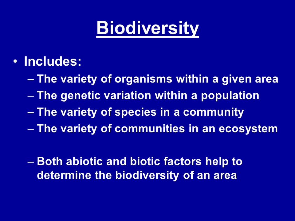 In an Ecosystem Habitat: a place where an organism lives out its life Niche: the specific role and position a species has in its environment.